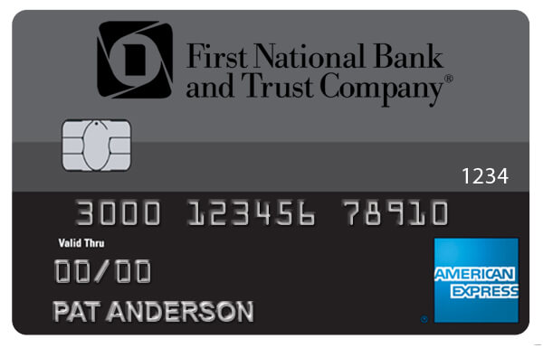 First Nat AMEX Card